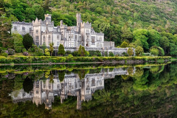Kylemore Abbey summer reflections